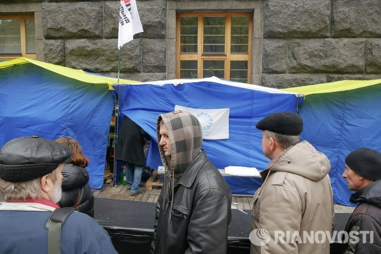 Тарифный майдан в Киеве