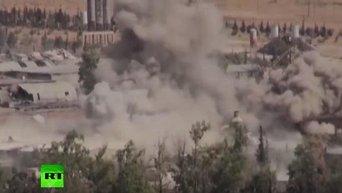 Сирийская армия продолжает наступление на позиции ИГ