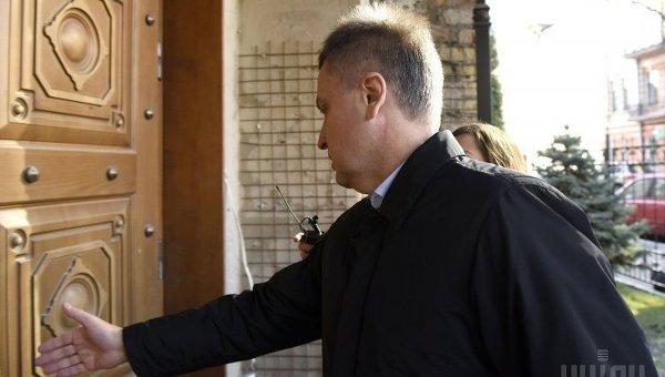 Наливайченко заходит в здание ГПУ. Архивное фото