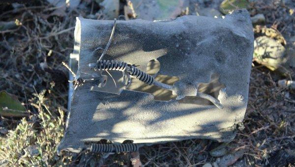 Остатки взорвавшихся боеприпасов в Сватово Луганской области