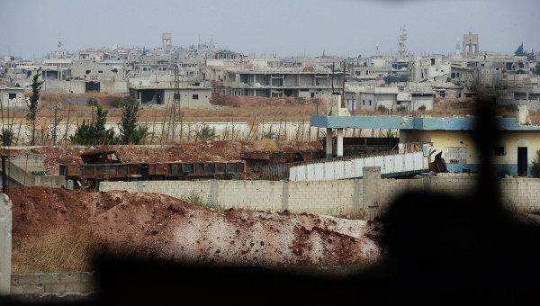 Ситуация в сирийском Хомсе. Архивное фото