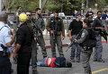 На месте нападения палестинца на израильтянина в Иерусалиме