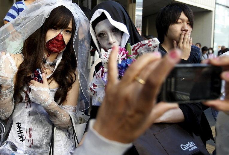 Хэллоуин в Токио