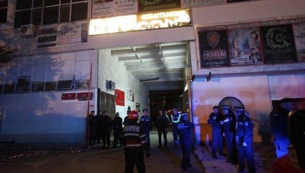 Пожар в ночном клубе Бухареста