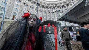 Как отмечали Хэллоуин в Киеве