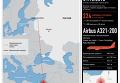 Крушение российского самолета А321 в Египте. Инфографика