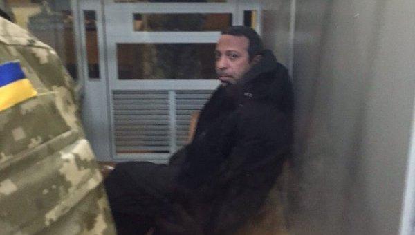 Геннадий Корбан в зале суда в Чернигове