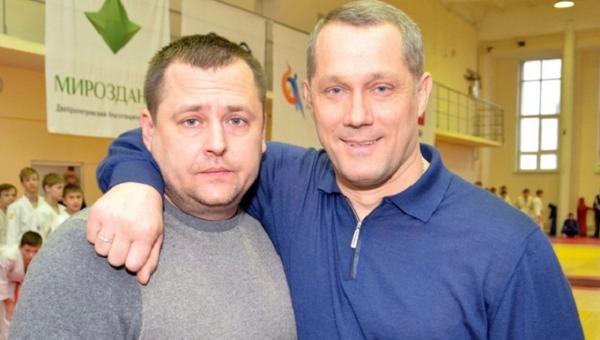Народный депутат Борис Филатов (слева) и Михаил Кошляк