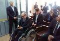 Геннадий Кернес в зале суда в Полтаве 2 ноября 2015 г.