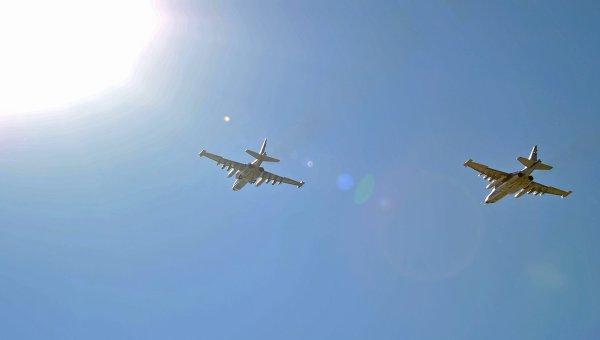 Истребители США перехватили два русских  самолета над Сирией