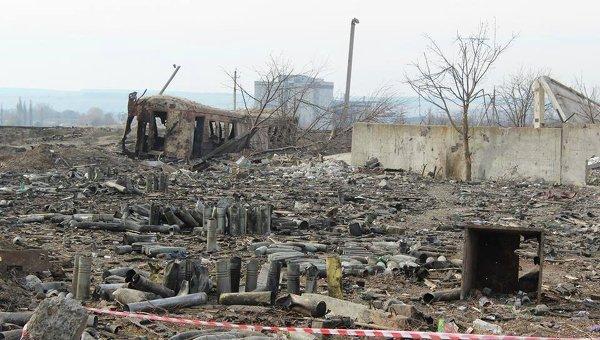 Последствия пожара и взрывов в Сватово