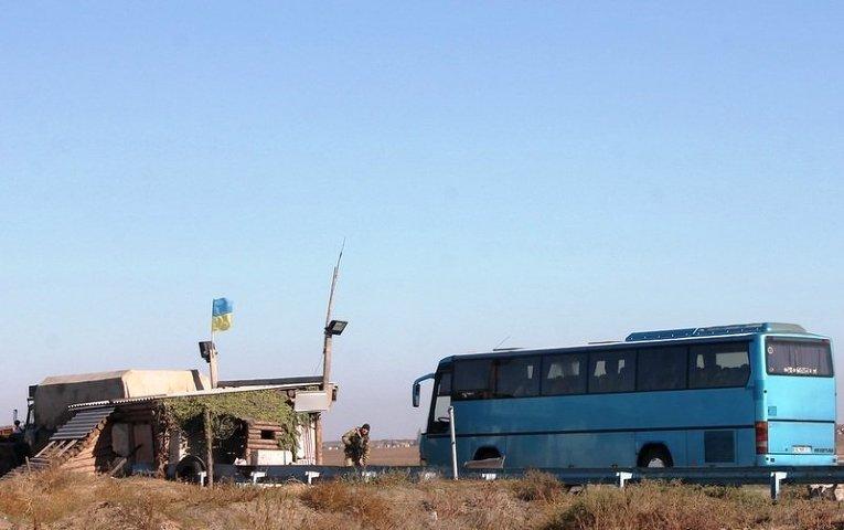 Украинские десантники укрепляют позиции на границе Крыма