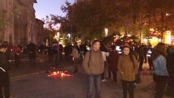 Митинги в Бухаресте с требования отставки премьера