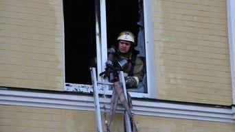 На территории Охматдета в Киеве горел центр детской кардиохирургии