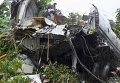 Фото рухнувшего Ан-12 в Южном Судане
