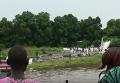 Крушение Ан-12 с российским экипажем в Южном Судане. Видео