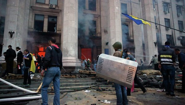 Ситуация в Одессе 2 мая 2014 года. Архивное фото
