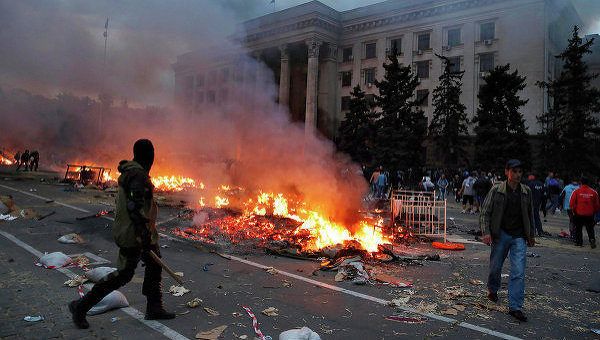 Ситуация в Одессе 2 мая 2014 года