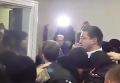 Депутат Парасюк vs прокурор Голинченко. Видео