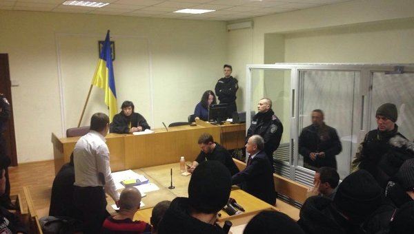 Геннадий Корбан в суде