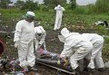 Эвакуация тел погибших в авиакатастрофе Ан-12 в Южном Судане