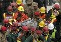 Обрушение фабрики в Пакистане: кадры с места трагедии