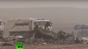 Поисковая операция на месте крушения A321: работа спасателей продолжается