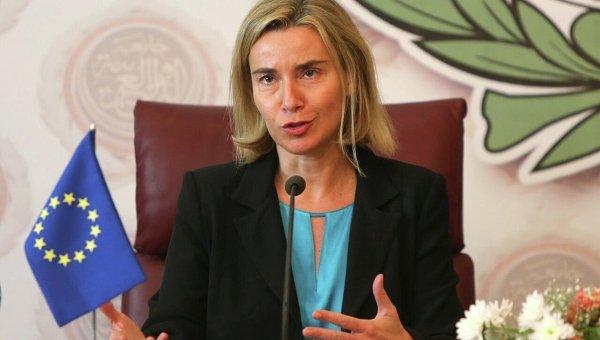 Глава внешнеполитической службы Евросоюза Федерика Могерини. Архивное фото