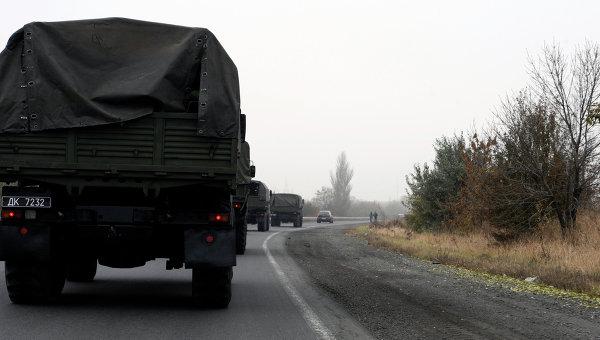 Штаб ДНР: отвод войск вДонбассе сорван повине украинской столицы
