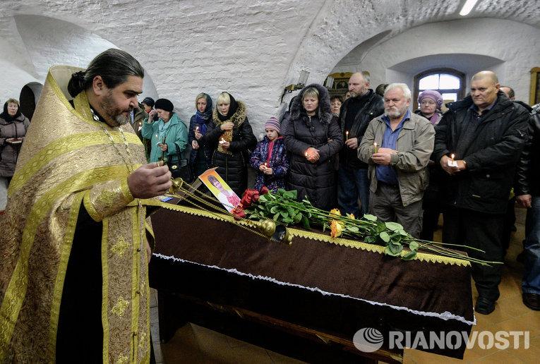 Похороны жертв крушения А-321
