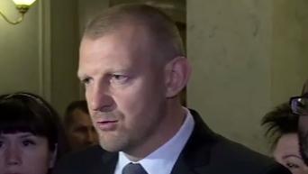 Официальное заявление Тетерука по конфликту с Кужель. Видео