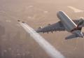 В Дубаи сняли видео о совместном полете человека и самолета. Видео