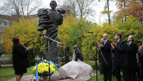 Открытие памятника Тарасу Шевченко в Риге
