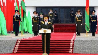 Инаугурация избранного президента Белоруссии А.Лукашенко. Архивное фото