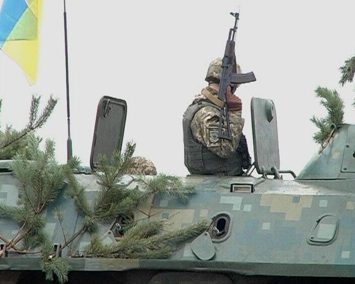 """Разведка оперативного командования """"Запад"""" ВСУ отрабатывает засаду"""