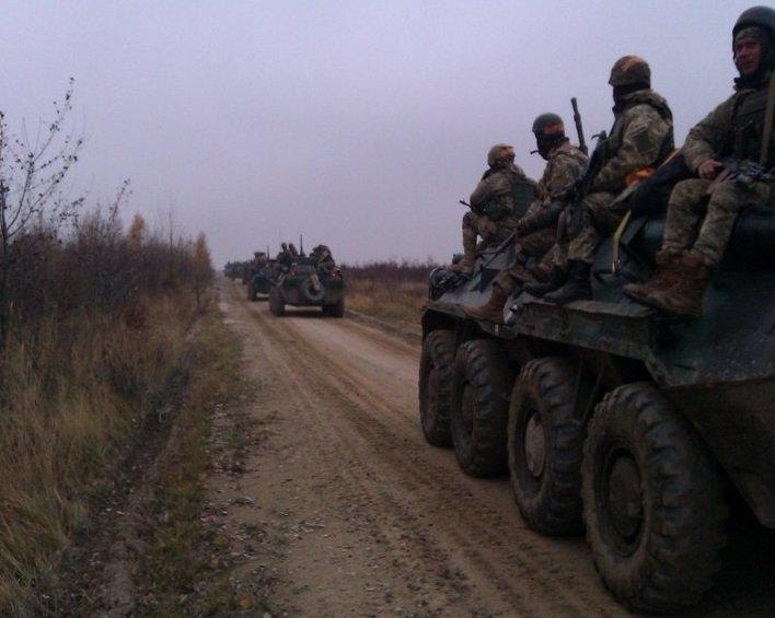 Стрельбы 80-й отдельной аэромобильной бригады ВДВ под Житомиром