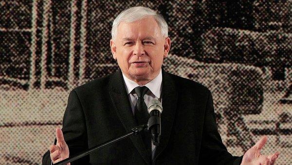 Ярослав Качиньский. Архивное фото